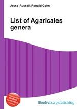 List of Agaricales genera