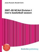 2007–08 NCAA Division I men`s basketball season