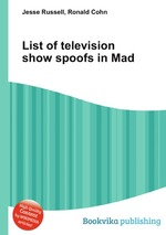 List of television show spoofs in Mad