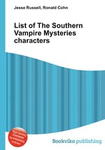 List of The Southern Vampire Mysteries characters
