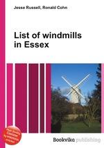 List of windmills in Essex