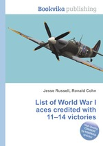 List of World War I aces credited with 11–14 victories