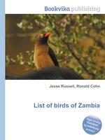 List of birds of Zambia