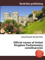 Official names of United Kingdom Parliamentary constituencies