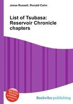 List of Tsubasa: Reservoir Chronicle chapters