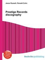Prestige Records discography