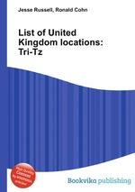List of United Kingdom locations: Tri-Tz