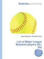 List of Major League Baseball players (Kj–Kz)