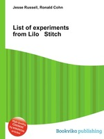 List of experiments from Lilo Stitch