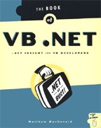 The book of VB.Net. На английском языке