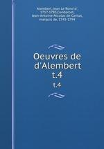 Книга Oeuvres. T. 2