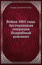 Война 1805 года. Аустерлицкая операция
