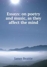beattie essay on poetry and music Tenho certeza que você vai gostar também: beattie essay on poetry and music.