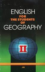 English for the Students of Geography - II