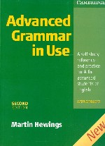 Обложка книги Advanced Grammar in Use with Answers