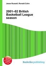 Обложка книги 2001–02 British Basketball League season