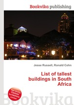 Обложка книги List of tallest buildings in South Africa