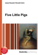 Обложка книги Five Little Pigs