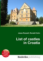 Обложка книги List of castles in Croatia
