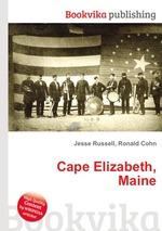 Обложка книги Cape Elizabeth, Maine