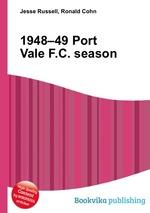 Обложка книги 1948–49 Port Vale F.C. season