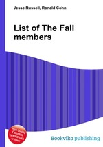 Обложка книги List of The Fall members