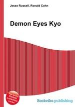 Обложка книги Demon Eyes Kyo