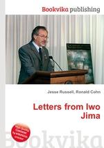 Обложка книги Letters from Iwo Jima