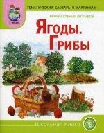 Мир растений и грибов: Ягоды. Грибы [Дид. карт.]