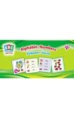 Алфавит.Числа=Alphabet.Numbers: коллекция карточек