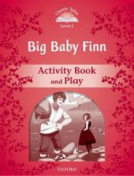 2Big Baby Finn Activity book and Play