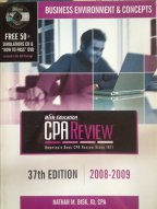 Business Environment & Concepts (CPA Exam Review), Nathan M. Bisk