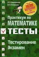 Практикум по математике. Подготовка к тестированию и экзамену