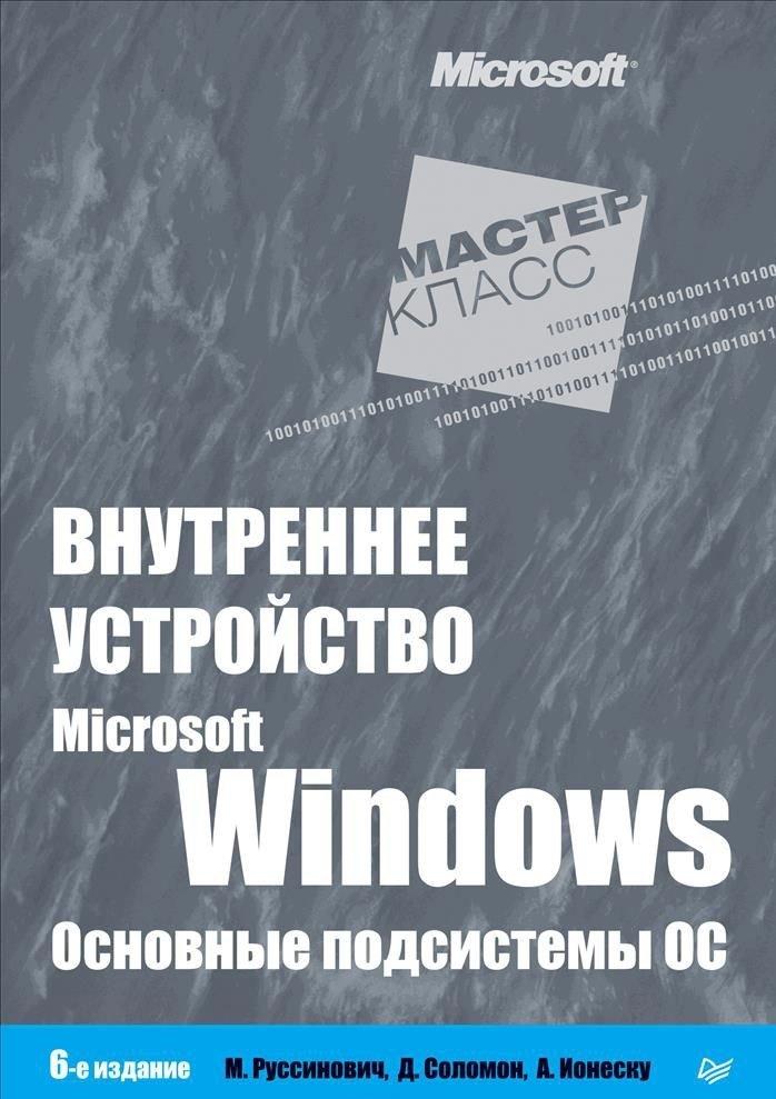 Внутреннее устройство Microsoft Windows. Основные подсистемы ОС