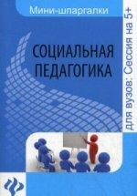 Социальная педагогика. Шпаргалка