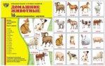 Дем. картинки СУПЕР Домашние животные.16 демонстр.картинок с текстом(173х220мм)