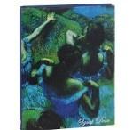 Блокнот. Эдгар Дега. Голубые танцовщицы (белая бумага)