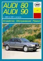 Audi 80/90 1986-1991гг. Устройство, обслуживание и ремонт автомобилей