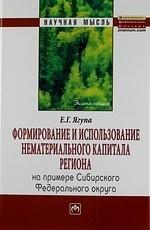Формирование и использование нематериального капитала региона на примере Сибирского федеративного округа. Монография