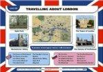 """Наглядное пособие к УМК """" Новый курс английского языка"""" 6 класс. Unit 8. Travelling about London"""