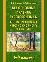 Все основные правила русского языка 1-4кл