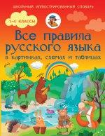 Все правила русского языка в картинках, схемах