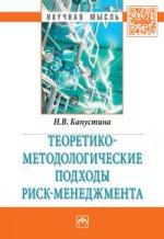 Н. В. Капустина. Теоретико-методологические подходы риск-менеджмента. Монография