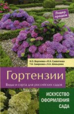 Гортензии.Виды и сорта для российских садов.