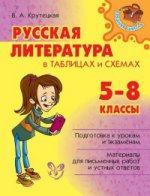 Русская литература в таблицах и схемах 5-8кл