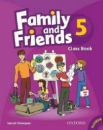 Family And Friends 5 Class Compact Disk Book +CD