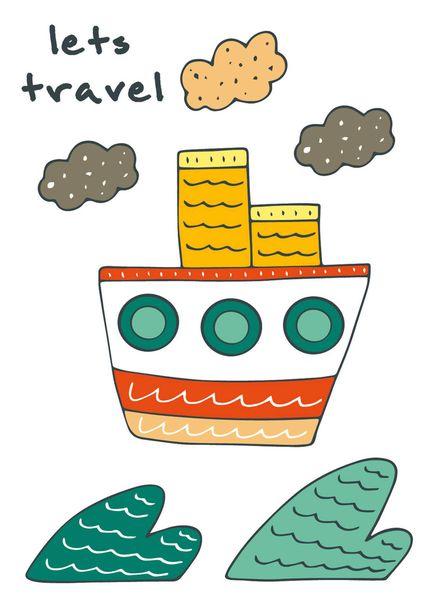 """Блокнот для записей """"Let``s travel"""" (A6)"""