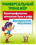 Каллиграфическое написание букв и цифр.Дошкольное обучение