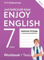 Enjoy English/Английский язык 7кл [Рабоч.тетр]ФГОС