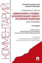 Комментарий к УИК РФ (постатейный).-3-е изд